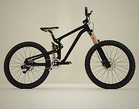 3D model Mountain bike MTB bicycle
