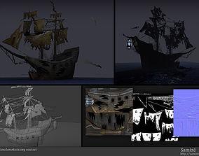 Ghost Ship 3D model