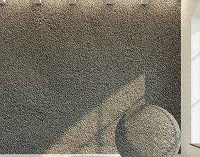 3D model Concrete wall Old concrete 33