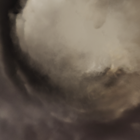 Inside the storm - HDR Panoramic Sky - 360 clouds v02 Low-poly 3D model