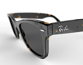 3D model eyewear Ray Ban Wayfarers