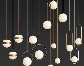 Ceiling Light Collection 2 3D