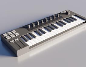 MIDI-Keyboard Controller 3D model