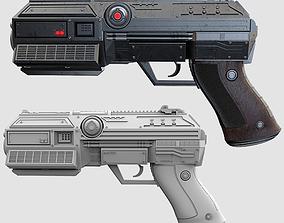 police Pistol - AXF 3 Laser Pistol 3D