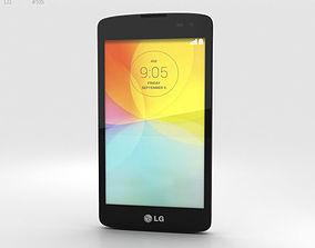 LG L Fino White 3D model