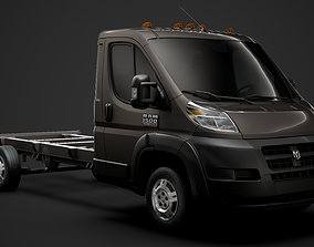 Ram Promaster Chassis Truck Single Cab 4035 WB 2019 3D