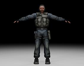 3D model Stalker - Mercenary 07