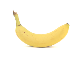 Banana 3D model photoscan VR / AR ready