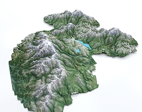 Mountain Lowpoly 3D model