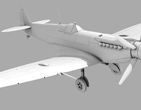 airplane 3D SUPERMARINE SPITFIRE MK XII
