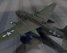 3D Douglas A-20G Havoc