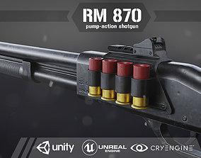 3D model RM 870 Shotgun