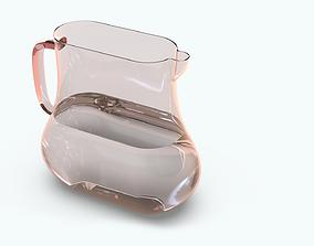 3D Water Glass Jar