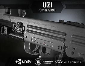Uzi Sub Machine Gun 3D asset