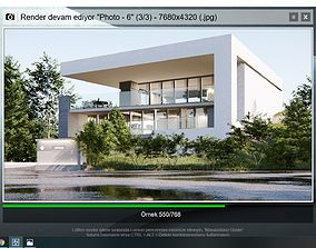 lumion 8 full scene model with setting realistic 3D