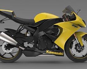 3D model Kawasaki Ninja ZX-10R