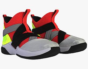 Nike LeBron Soldier XII SFG Vulcano 3D model PBR