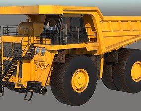 Mining Dump Truck PBR 3D model