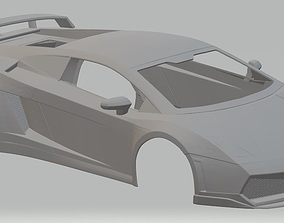 Lamborghini Gallardo LP560 Printable Body Car