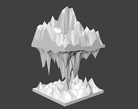 Dissected Landscape Art 3D printable model