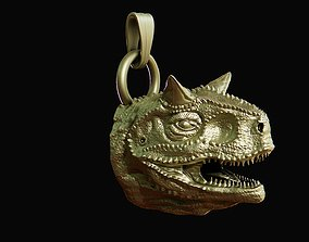 Carnotaurus sastrei head pendant 3D print model