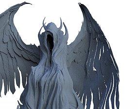Fallen Angel hooded 2 3D
