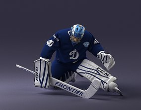 hockey goalkeeper 1007 3D print model