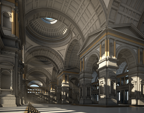 Hall of an Ancient Palace 3D