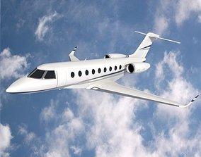 3D model Gulfstream G280 business jet