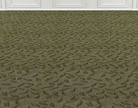 3D model Wall to Wall Seamless Carpet Tile No 2