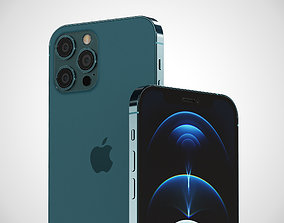 iPHONE 12 PRO MAX 3D model smartphone