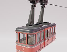 3D asset Cable Car