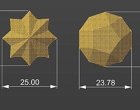 3D model Geometric Pendant