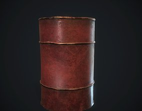 Barrel 3D model PBR
