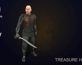 Treasure hunter 3D model