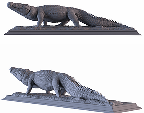 3D printable model Crocodile Statue