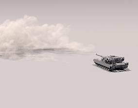 Houdini Tank Firing 3D model