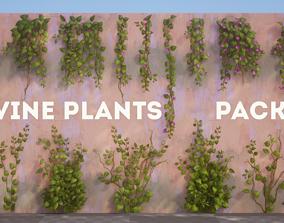 Vine Plants Pack 3D model