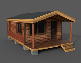 Woodland Cabin 3D model
