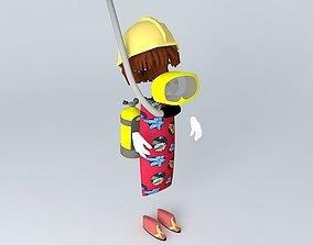 3D FLUFF PILLOW MODEL 1