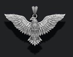 3D print model Eagle pendant nature