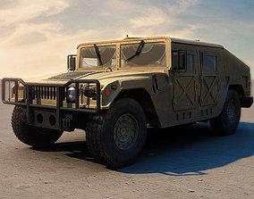 3D Humvee Military HMMWV
