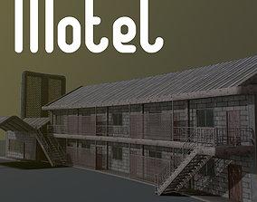 Motel 3D asset