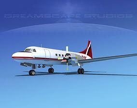 Convair CV-580 Purolator 3D