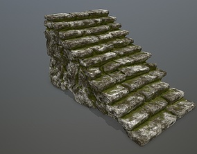 stairs architectural 3D model VR / AR ready