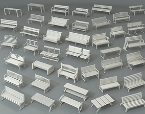 3D Benches - Part - 1 - 40 peace