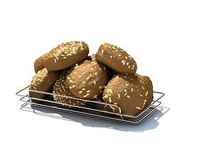 3D Chocolate Biscuits With Cashew Nuts