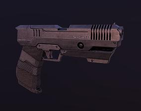 3D model Sci-Fi Glock