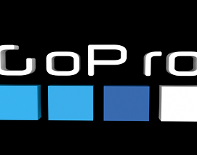 3D model GoPro Logo