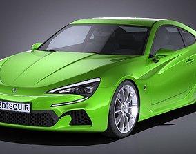 Generic Coupe GT 2017 3D